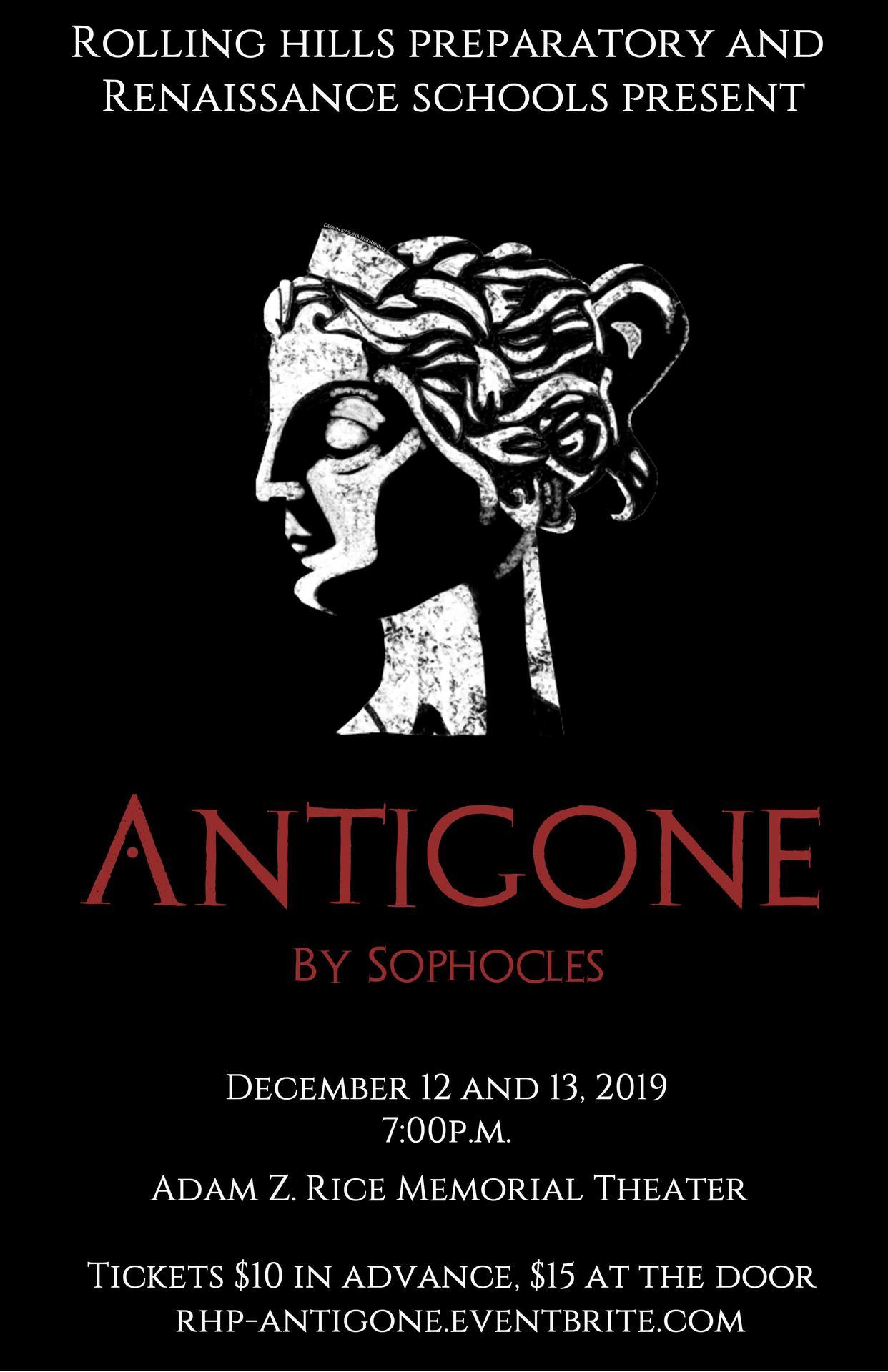 Antigone Poster by Sofia H.
