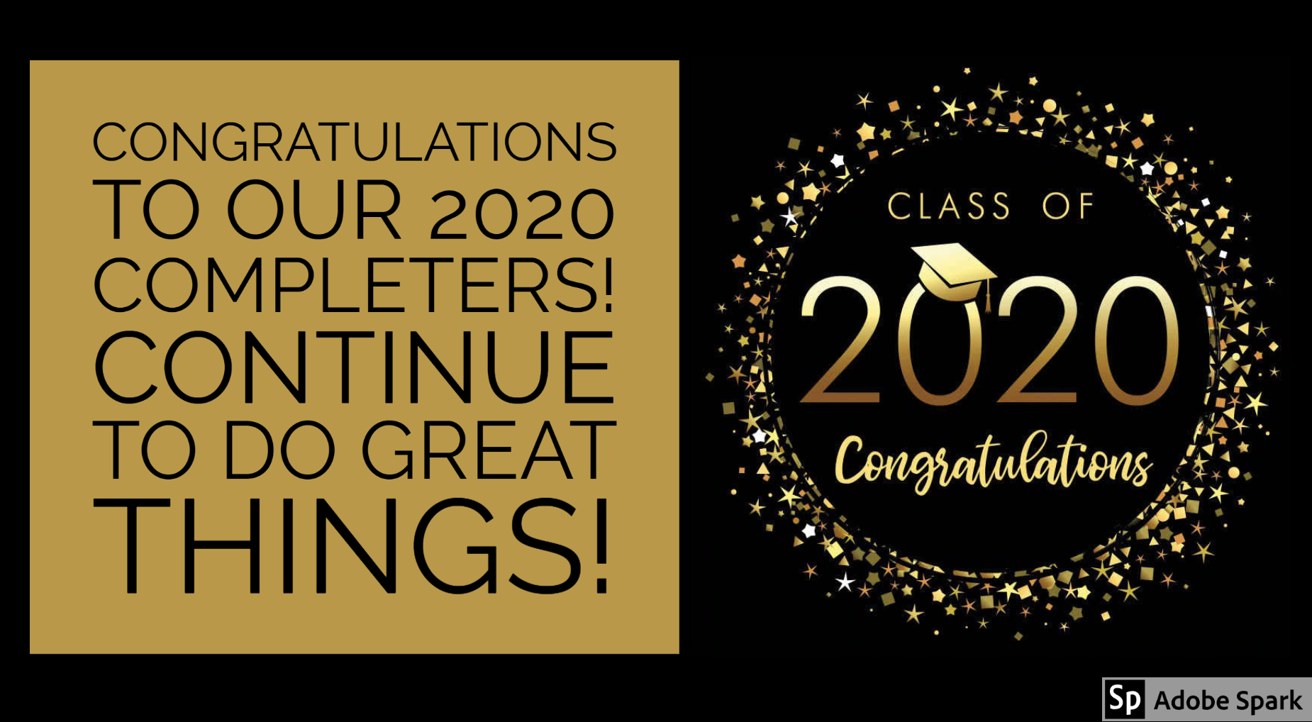 class of 2020, congratulations