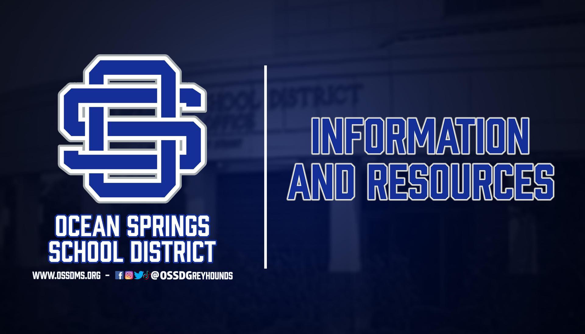 Information & Resources Header
