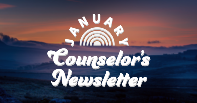 January Counselor's Newsletter