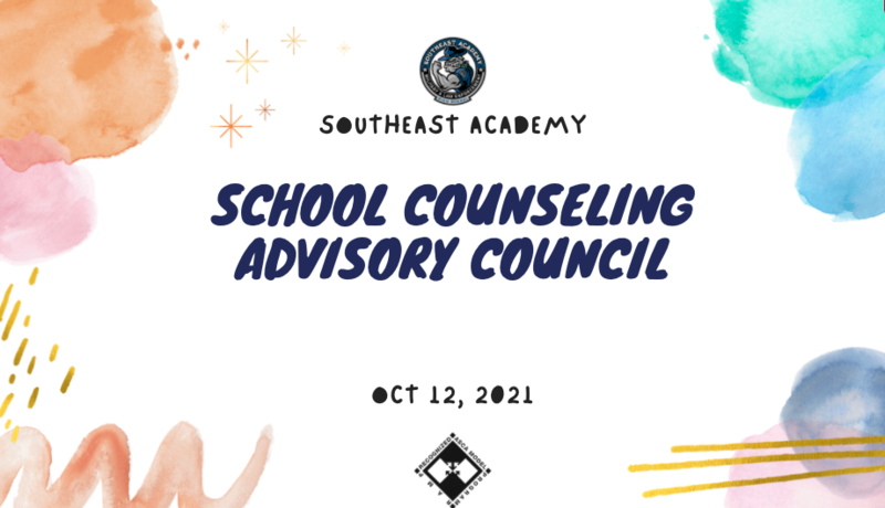 Fall 2021 School Counseling Advisory Council Featured Photo