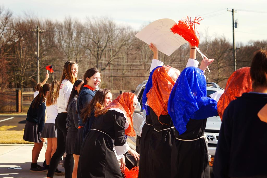 Accepted Students Welcome Parade