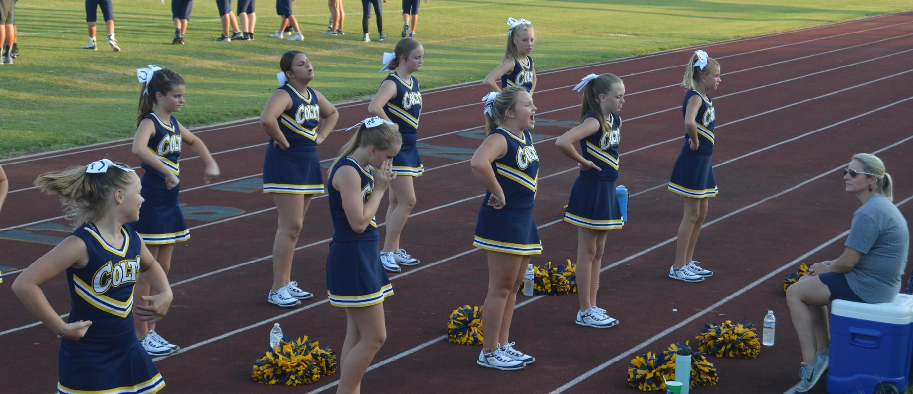 OMS Football Cheer