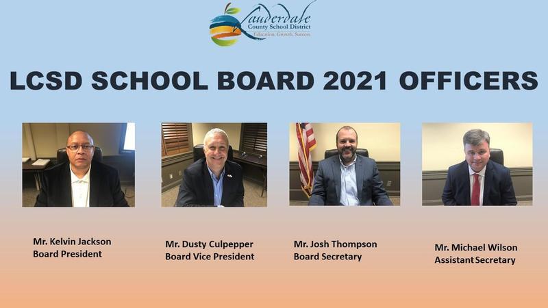 LCSD 2021 School Board Officers
