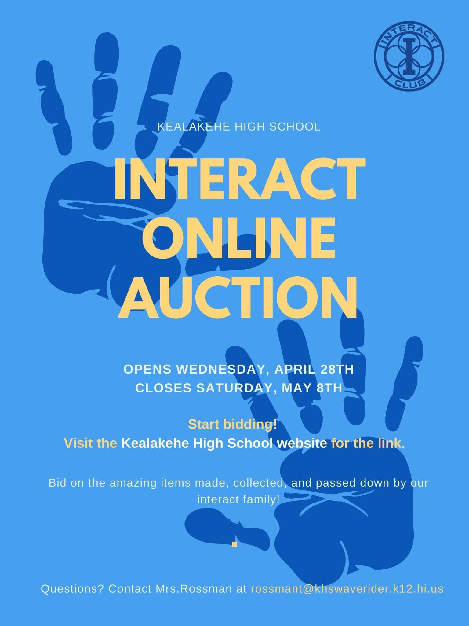 Interact Online Auction Image
