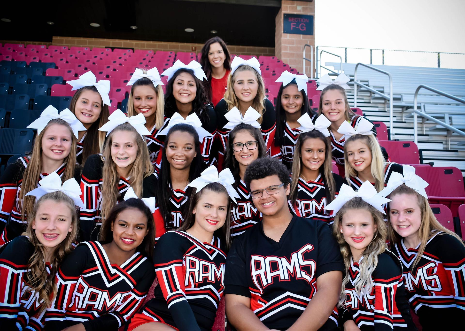 2018-19 Ram Cheerleaders