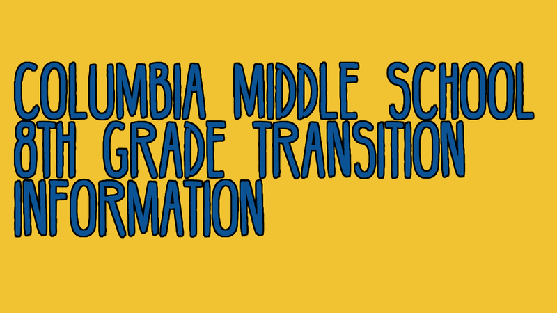 8th grade transition information