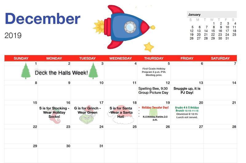 December Calendar Featured Photo