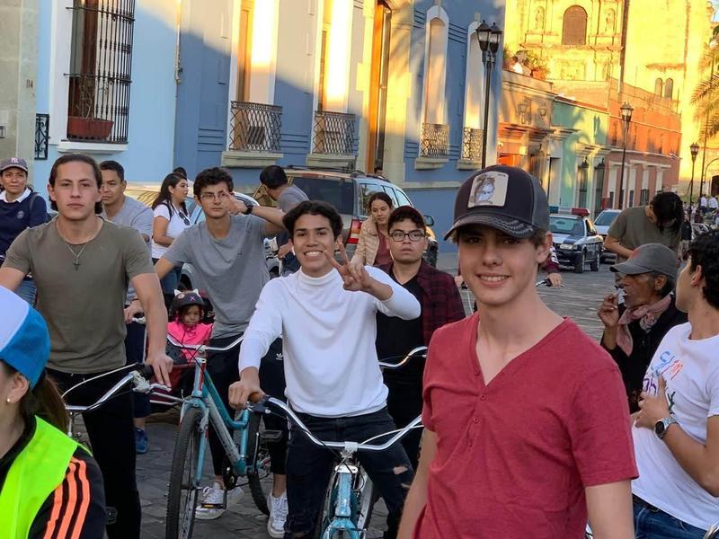 Paseo en bicicleta por el Instituto Cumbres Oaxaca Featured Photo