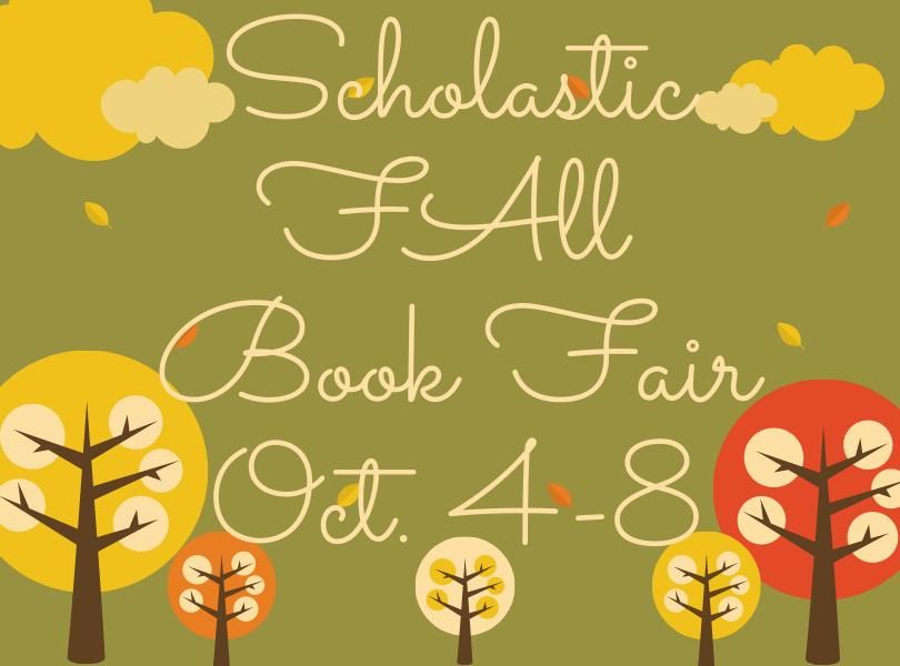 Book Fair Oct. 4-8