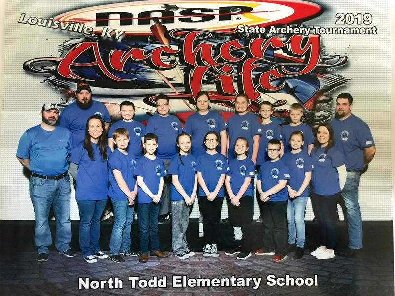 Todd County Archers compete in State NASP Competition Featured Photo