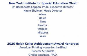 Closing Credits screen grab of NYISE students: Alana, David, Iliana, Iolanta, Milagros, Wani
