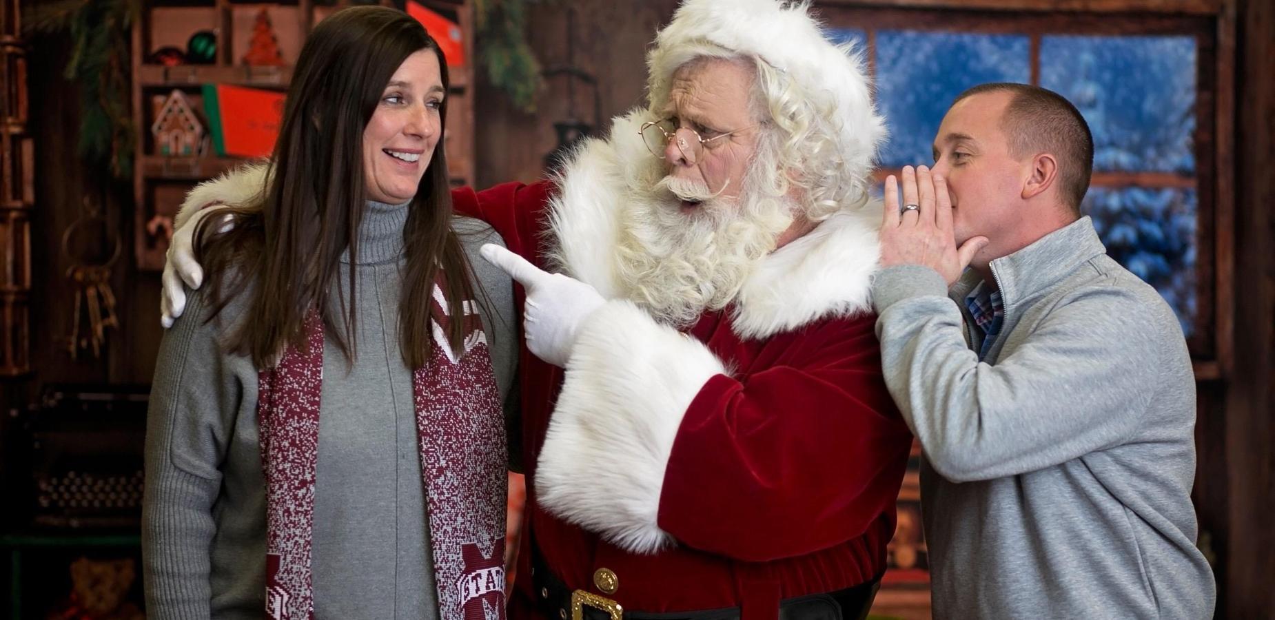 Santa visits Burnsville School!