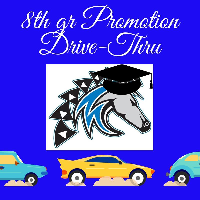 8th Grade Promotion Drive-Thru - RSVP needed by 3/30! Featured Photo