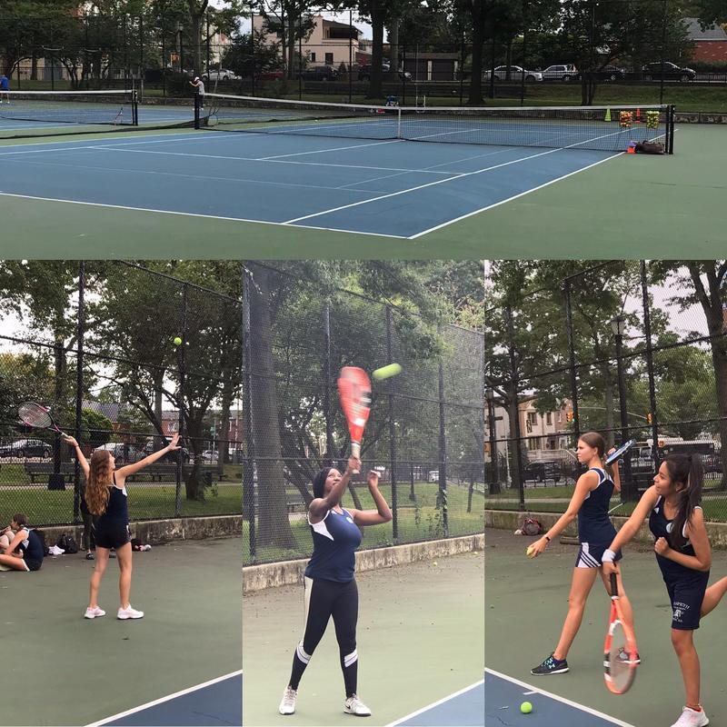 Maspeth High Tennis Loves Start of Season Featured Photo