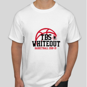 2019 White Out T-Shirt Design