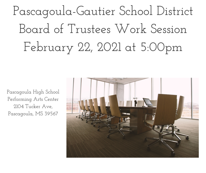 PGSD Board of Trustees Work Session
