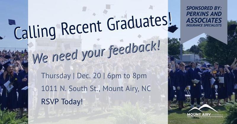 Making the Grade Recent Graduate Event
