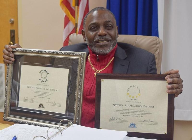 The Natchez Adams School District Board of Education Recognized with Two Awards Thumbnail Image