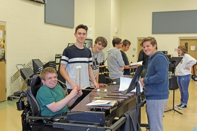 United Sound band students