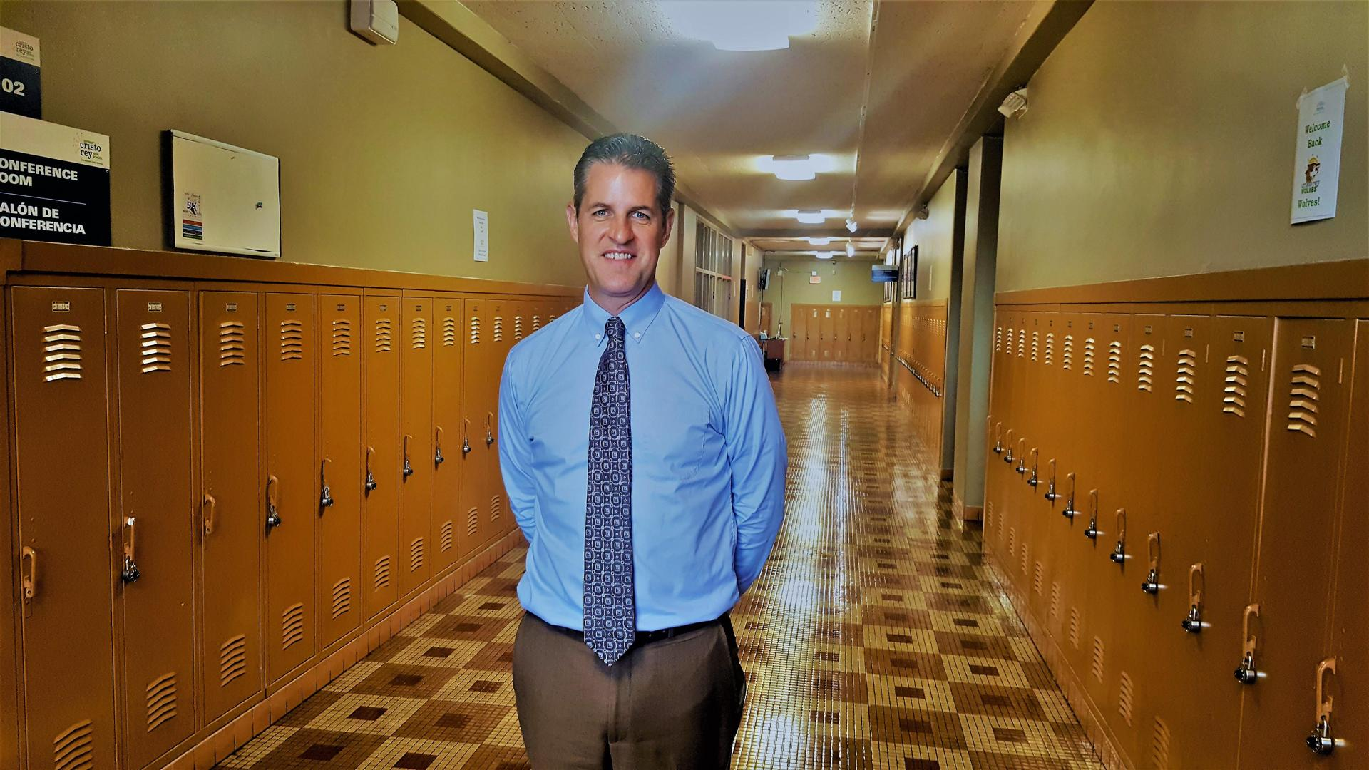Principal, Kevin Cummings