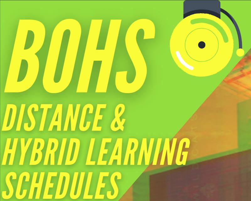 BOHS Hybrid schedule