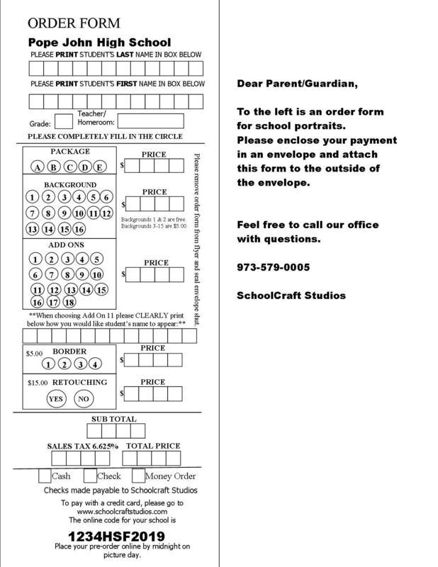 PJHS Order Form Pics