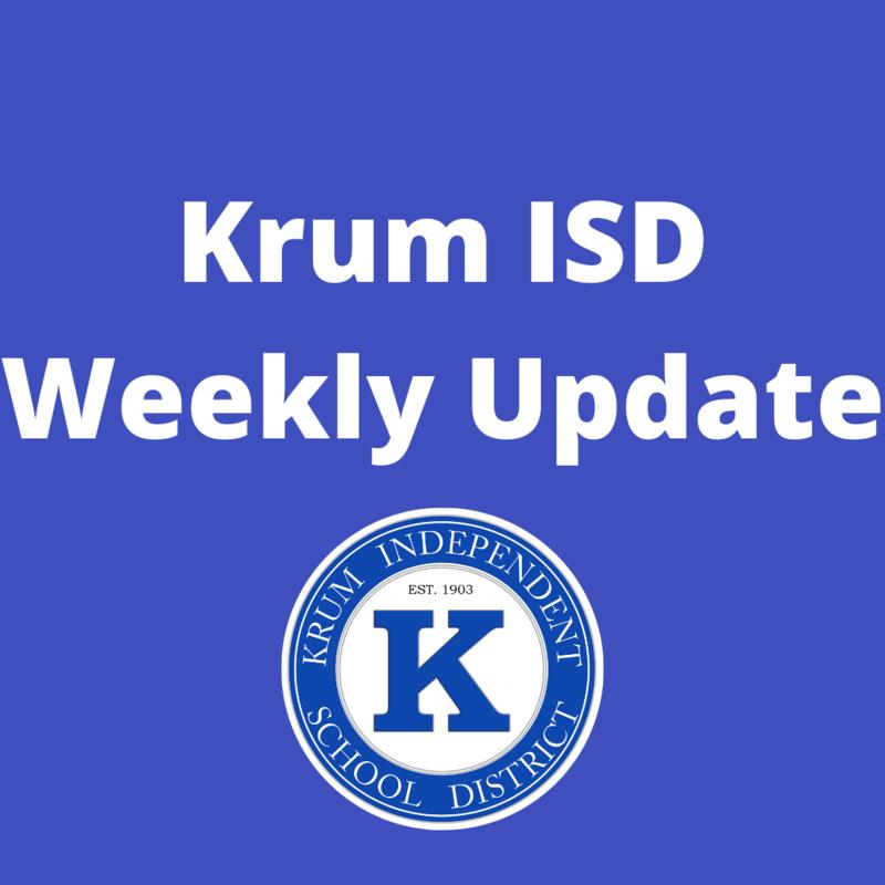 Krum ISD Weekly Update Featured Photo