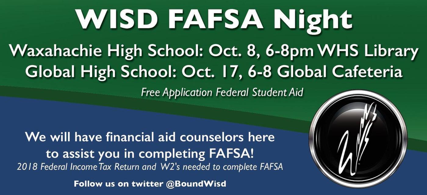 FAFSA information