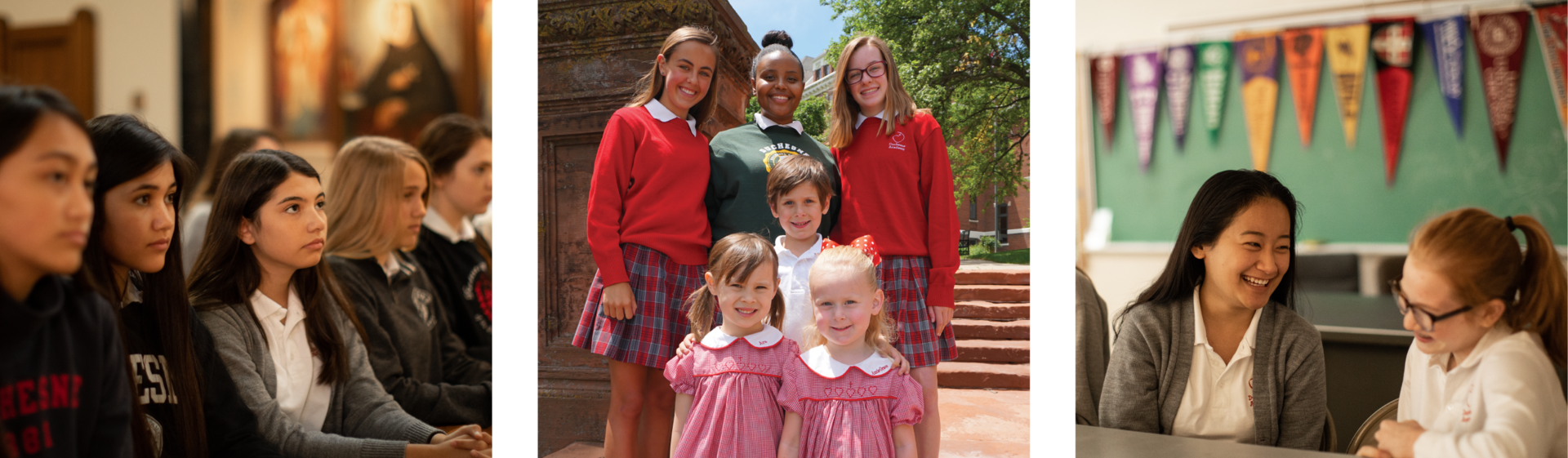 Duchesne Academy and Preschool Students