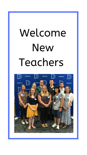 Picture of new teachers