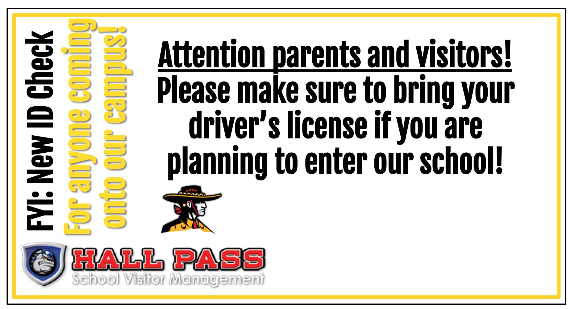 Hall Pass Info