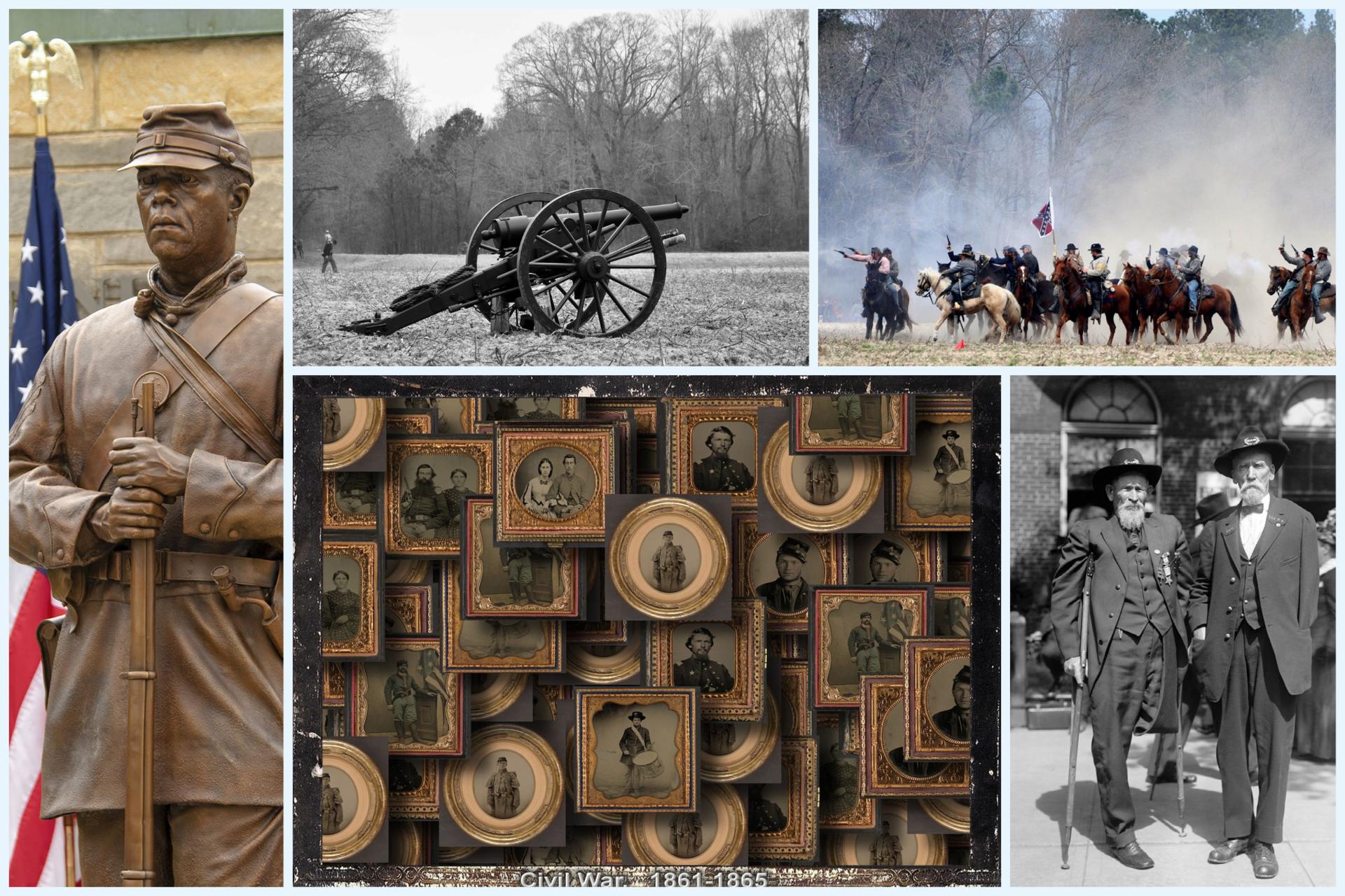Civil War collage image