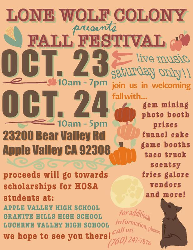 Lone Wolf Colony To Present Fall Festival Featured Photo