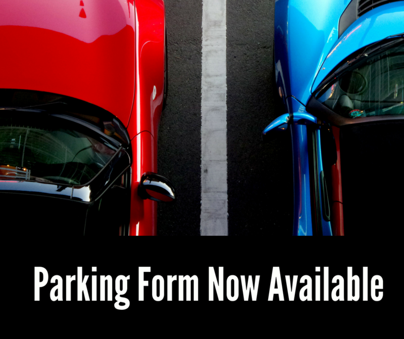 Parking Form Available Online Thumbnail Image