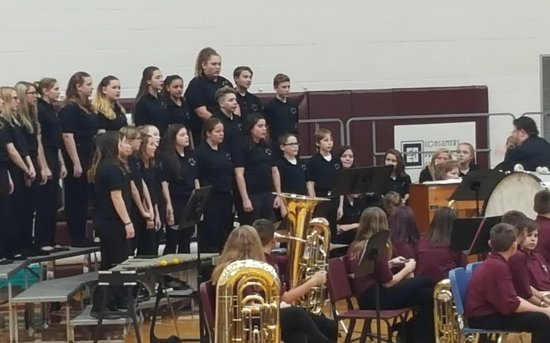 High School/Middle School Choir