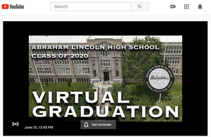 Abraham Lincoln High School Graduation on Youtube