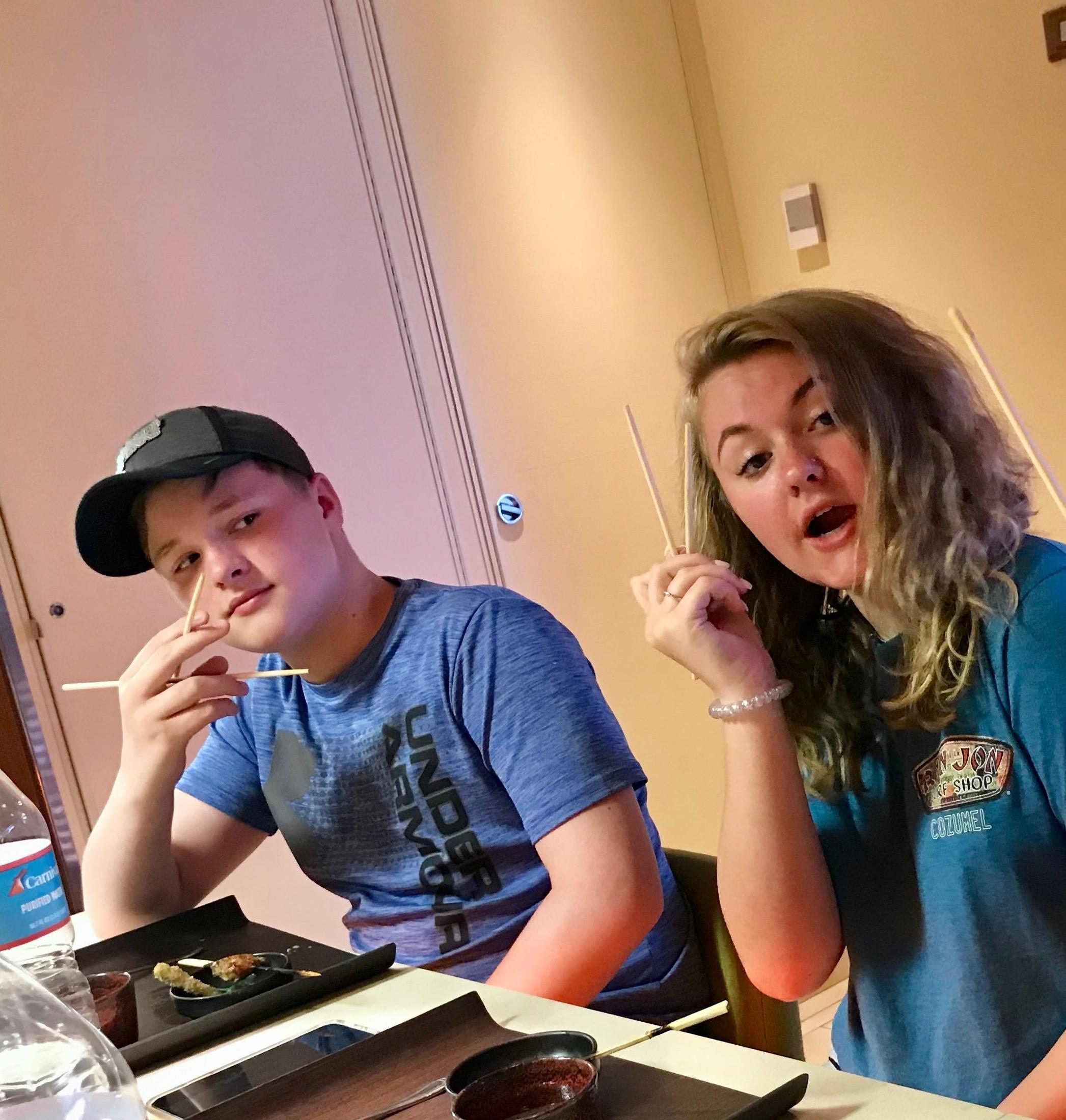 Taryn and Cooper