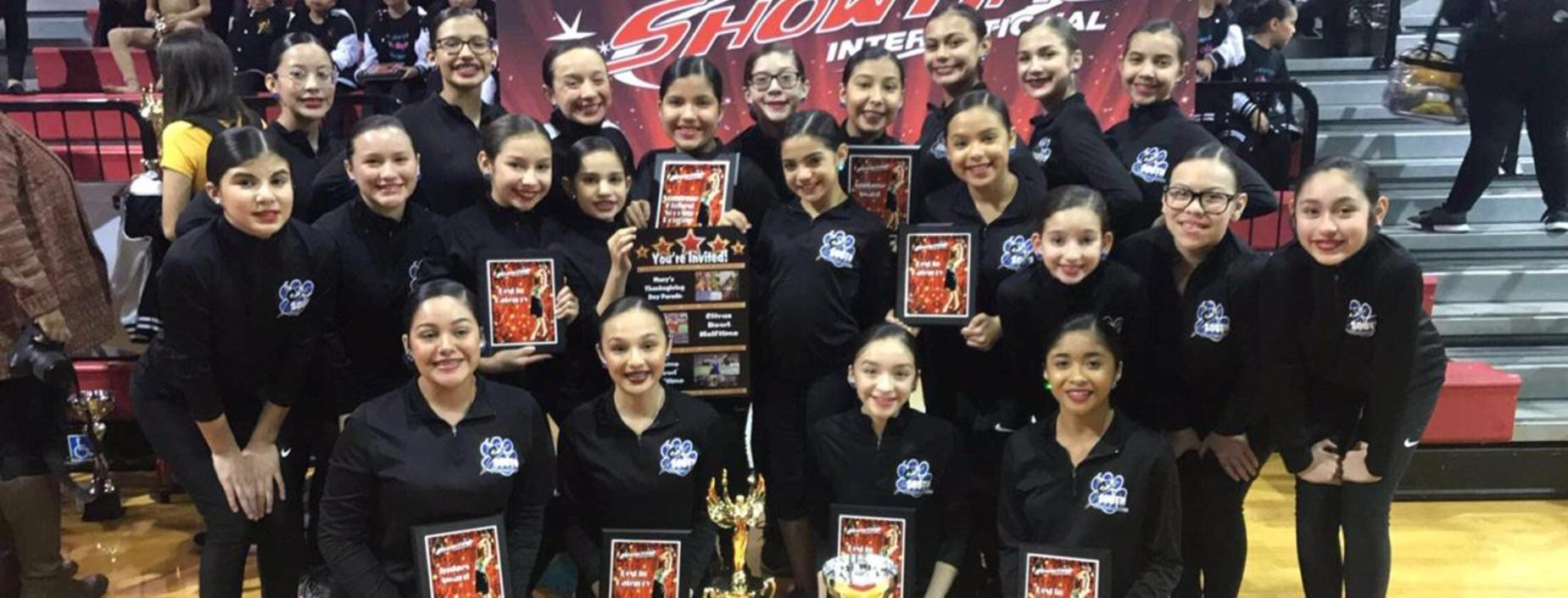 SMS Rebcadettes at ShowTime International South Texas Festival