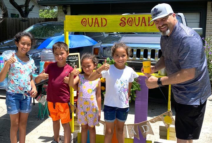 Aransas County ISD - Rockport-Fulton - Dr Joshua Garcia Lemonade Day