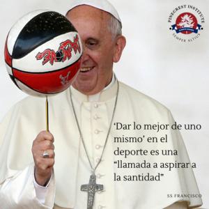 """'Dar lo mejor de uno mismo' en el deporte es una """"llamada a aspirar a la santidad"""".png"""