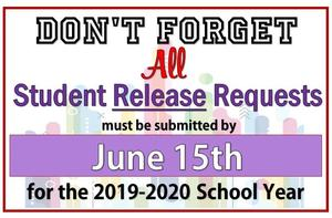 Student Release Requests