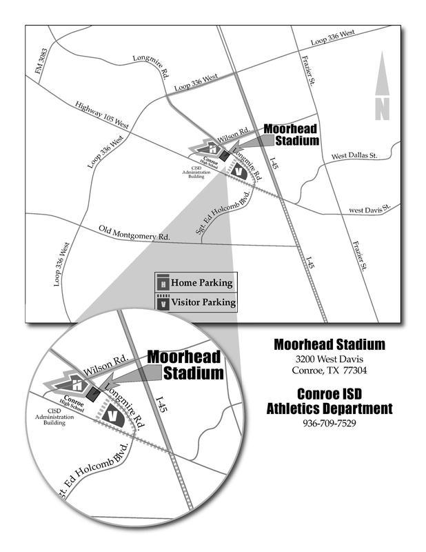 Moorhead Stadium in Conroe, TX