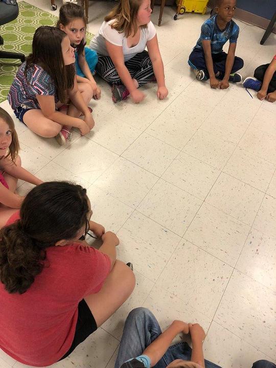 play rhythms using their bodies as percussion