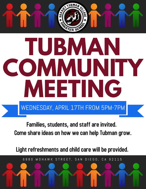 Tubman Community Meeting Featured Photo