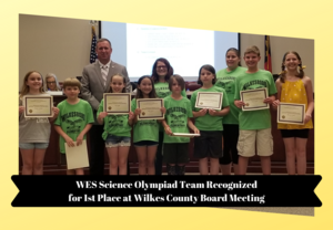 Science Olympiad Recognition