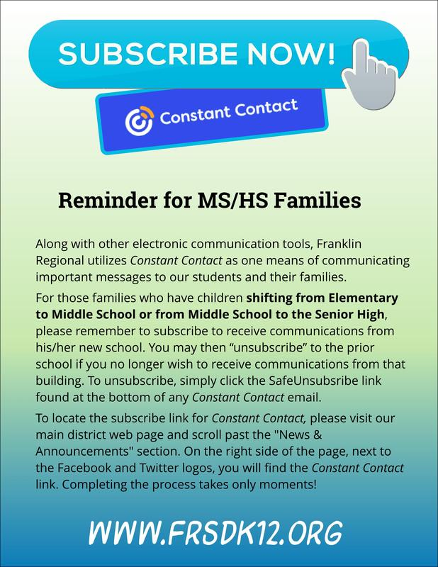 MS &SH Constant Contact 2021-22