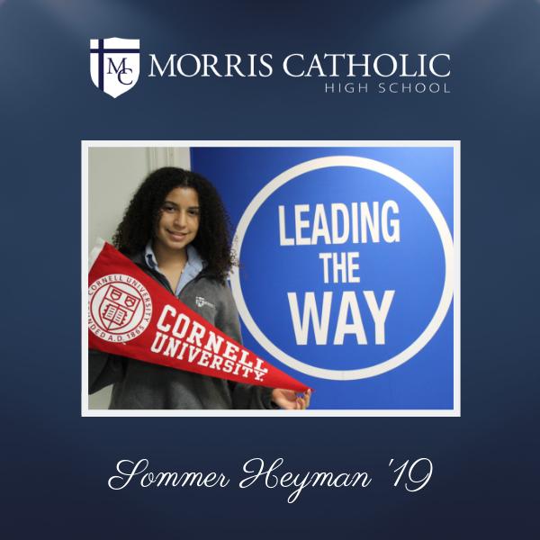 Student Spotlight: Sommer Heyman '19 Thumbnail Image