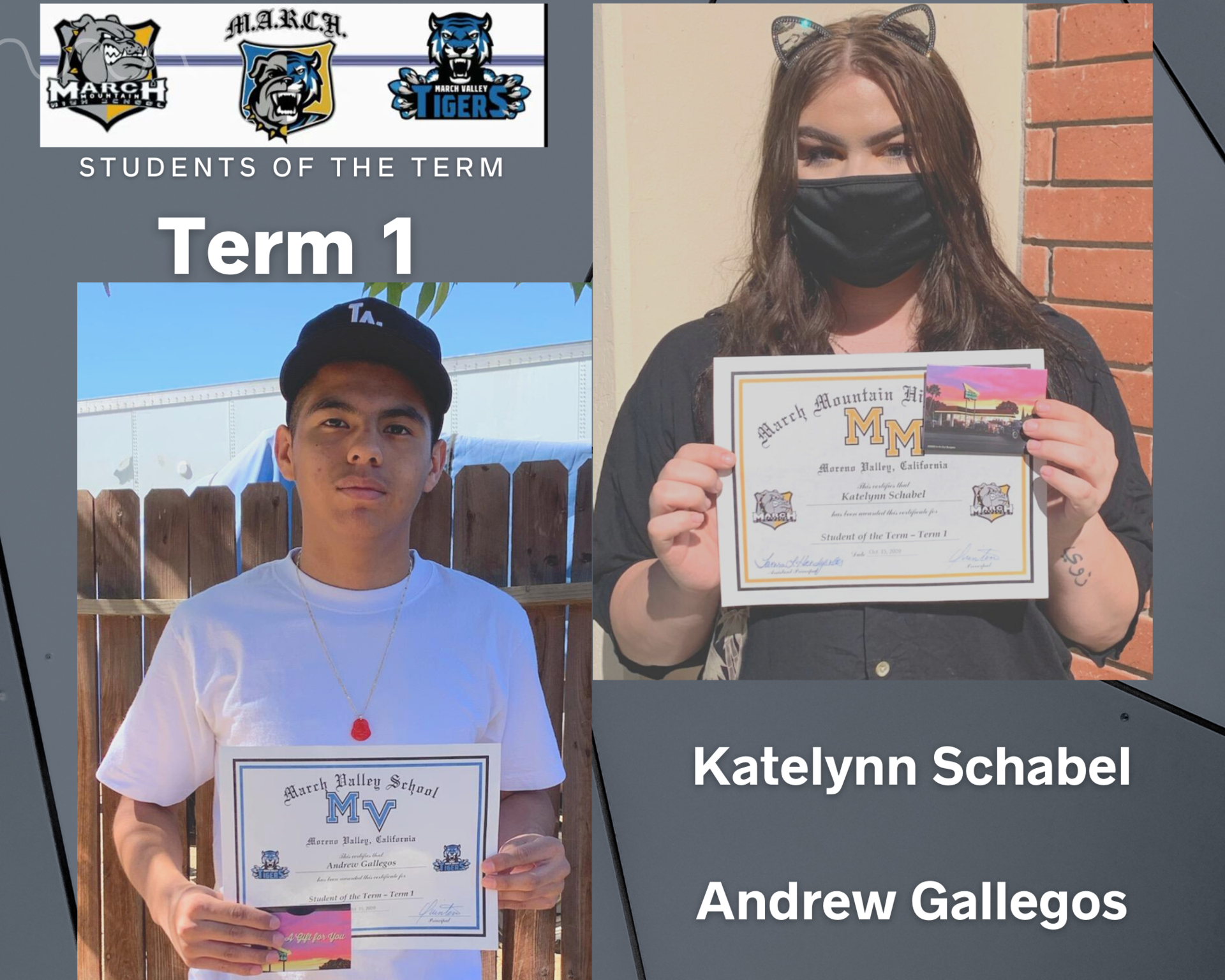 Team MARCH: Students of the Term-Term 1