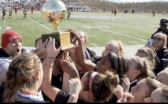 WLHS Girls Soccer 2020 Championship Photo